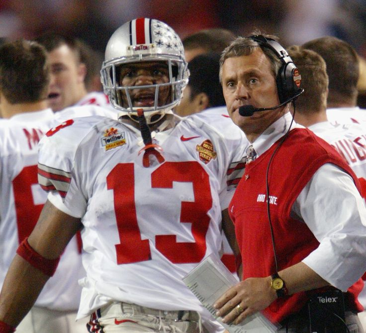 Jim Tressel and Maurice Clarett