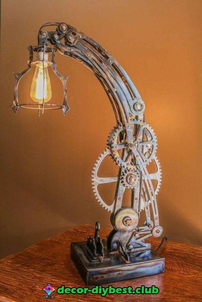 Kronleuchter Steampunk Mobel Industrie Stil Lampen Steam Punk Diy