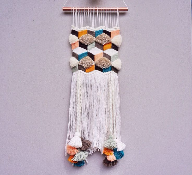 Weaving Wall Hanging by WillowBrookeDesign on Etsy https://www.etsy.com/listing/211317915/weaving-wall-hanging