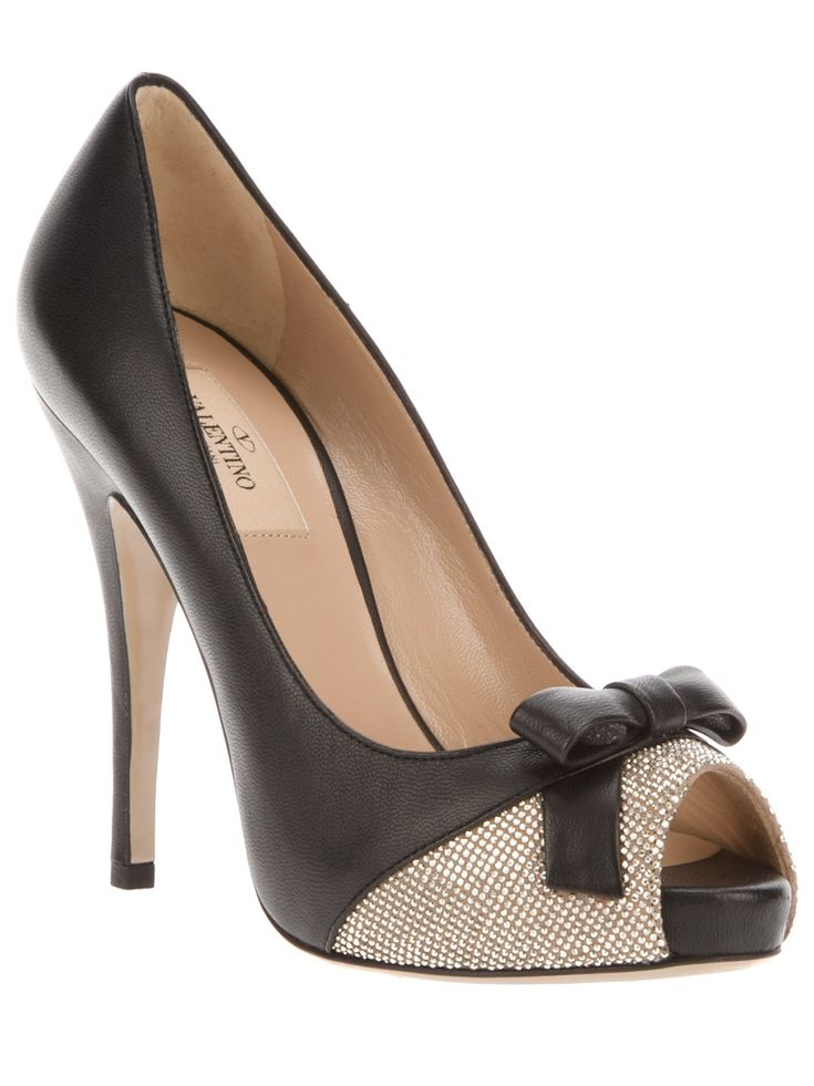 Valentino Peep toe pumps