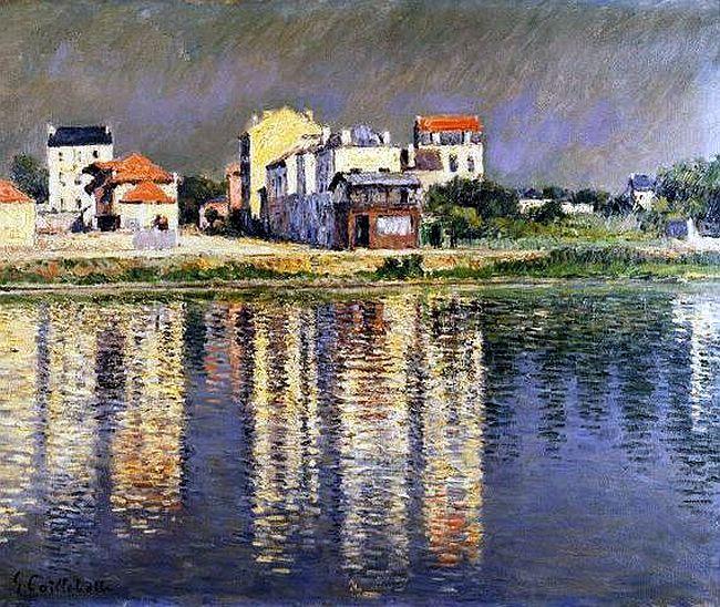 14 Best Gustave Caillebotte Images On Pinterest Oil On