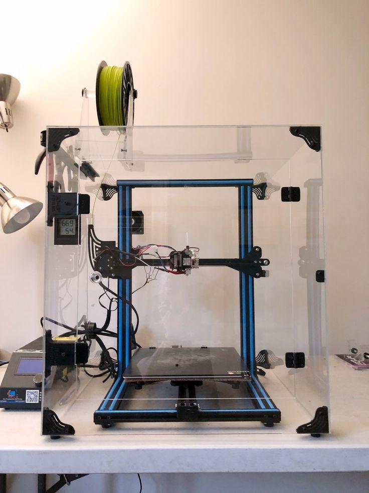CR10/10S/V2 Acrylic Enclosure Case Kit 3d printer