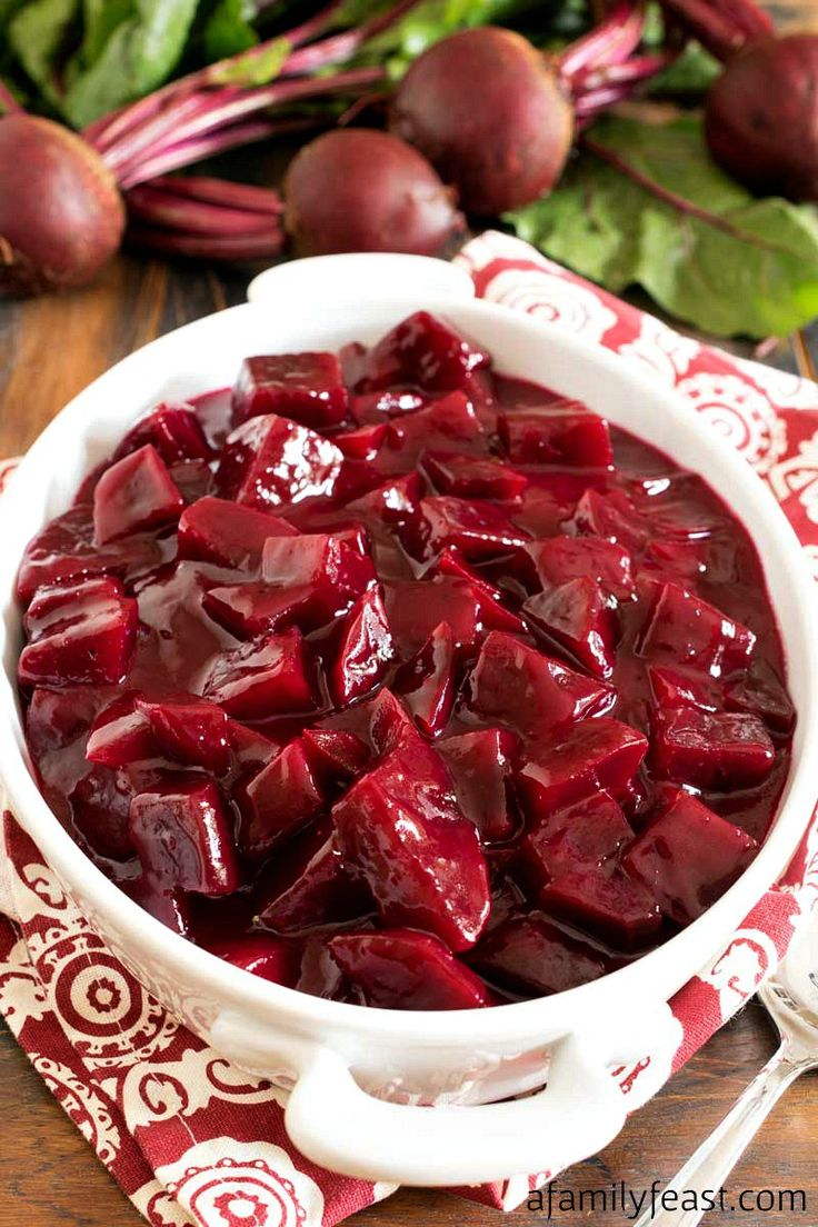 This Harvard Beets recipe is a classic New England side dish that has been around for generations. You'll love the sweet and sour sauce!