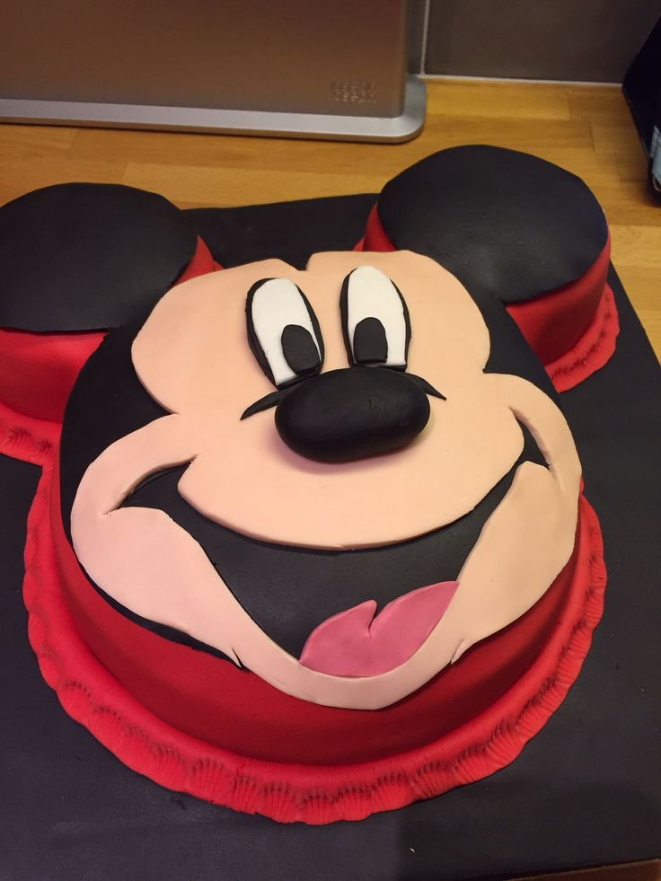 Mickey Mouse Choc Buttercream cake