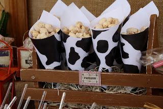 Popcorn in Cowhide paper?