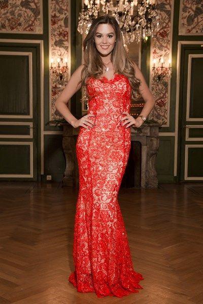 La robe de soirée que portera Miss Belgique lors du concours de Miss Univers.