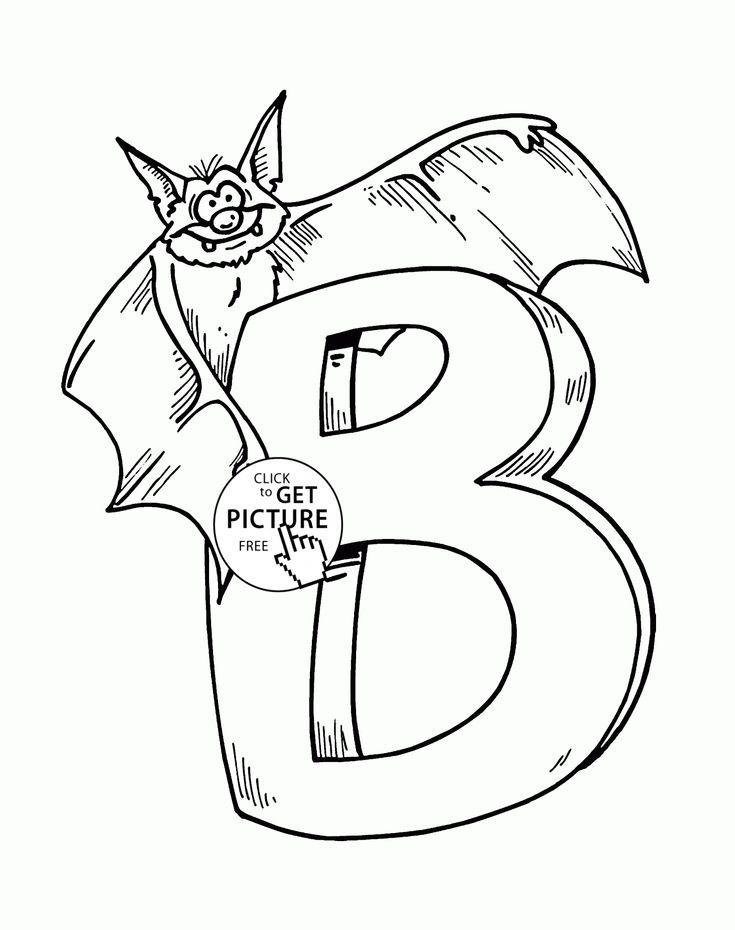 Mejores 104 imágenes de Alphabet&Numbers coloring pages en Pinterest ...