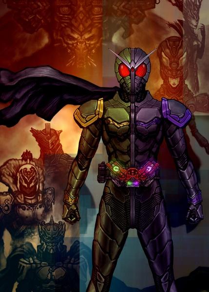 Kamen Rider W & Dopants