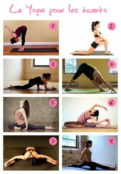 yoga grand écart