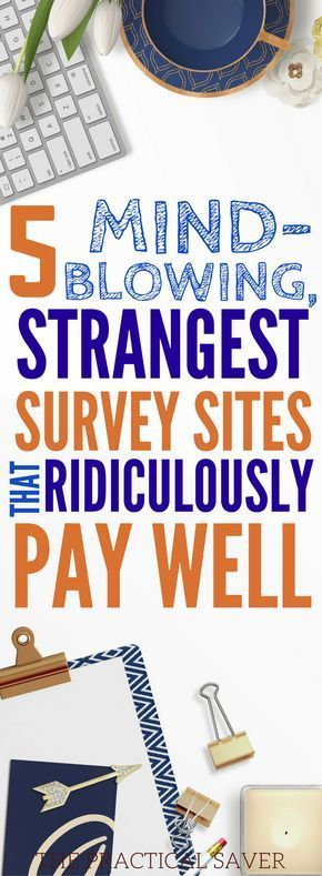 5 Strangest, Best Survey Tools That Ridiculously Pay Well – Random