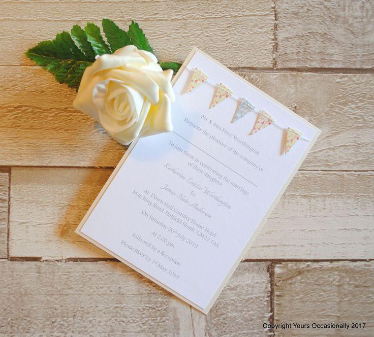 mini book wedding invitations uk%0A Flying the Flag Postcard Invitation