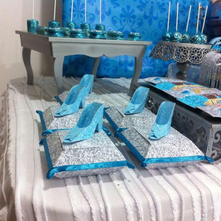 Cinderella birthday party favors! See more party planning ideas at CatchMyParty.com!