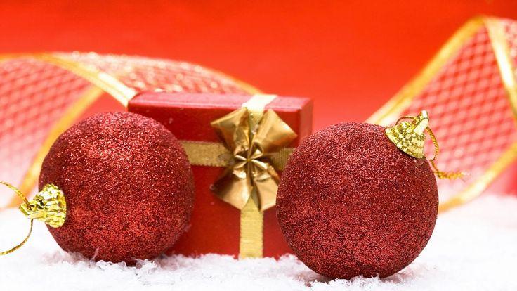 Imagenes para descargar y Wallpapers: Fondo HD adornos navideños