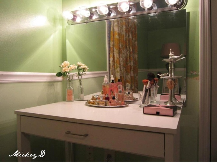 makeup vanity lighting ideas. diy vanity u0026 lights decorvanity ideasmakeup makeup lighting ideas