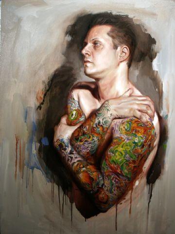 ShawnBarberSelfPortrait. Shawn Barber, self-portrait, 2008.