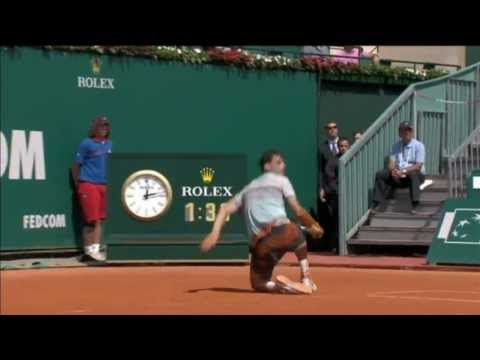 Dimitrov Diving Hot Shot Monte-Carlo Rolex Masters