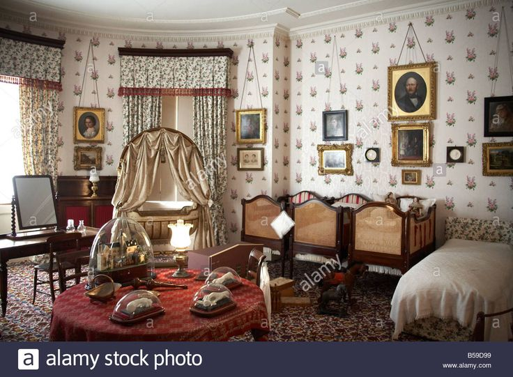 Children s nursery interior at Osborne House former home of Queen Victoria East Cowes Isle of Wight England UK English Heritage Stock Photo