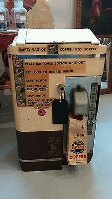 Vintage AMERICAN DUPLEX CO Industrial Coffee Grinder Model 50-G Works