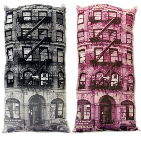 :: shades of  :: PINK :: PRODUCTS :: PG Brick Pillow - lovely #pink