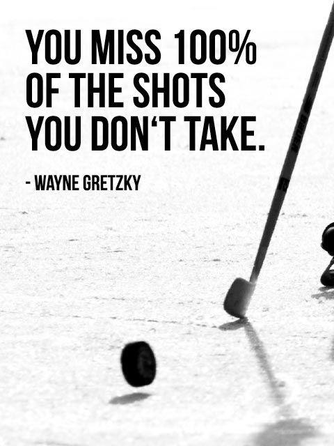 Wayne Gretzky #quote.