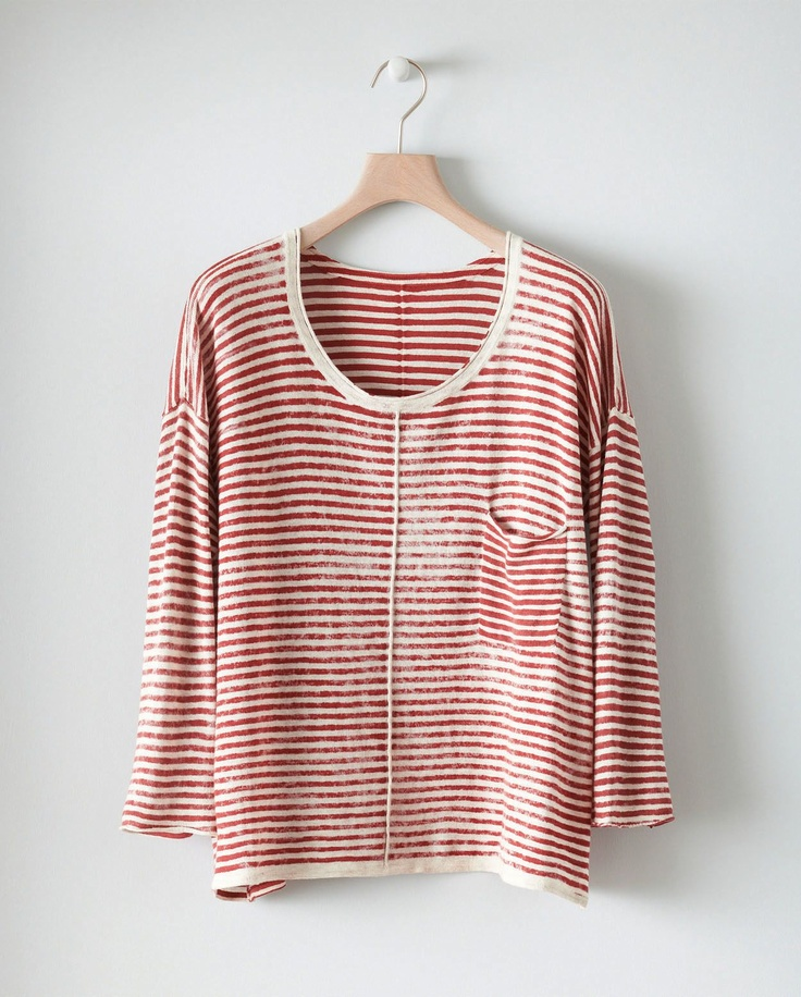 Printed Stripe Sweater by poetry