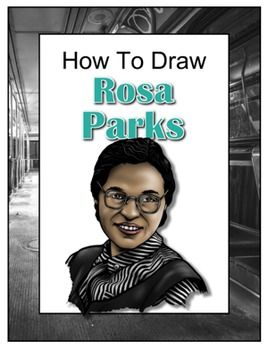 best rosa parks images school projects school  drawing john presents how to draw rosa parks begin a pencil sketch