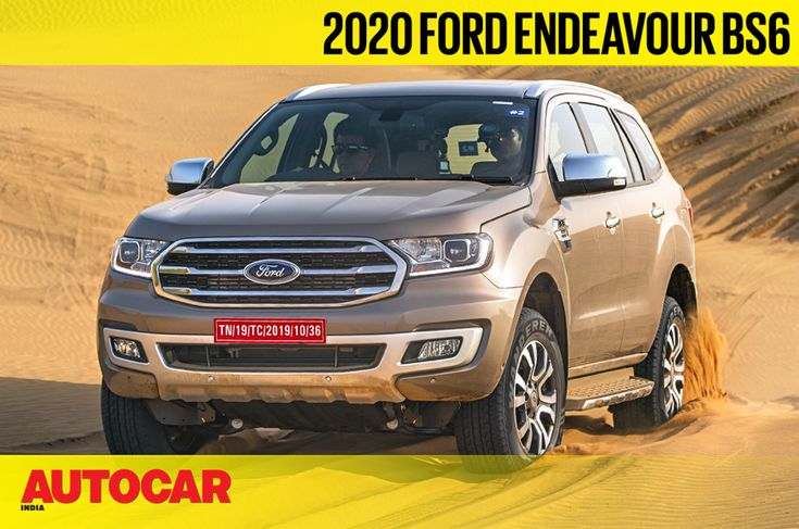 Review 2020 Ford Endeavour Off Road Dune Bashing Video Review In