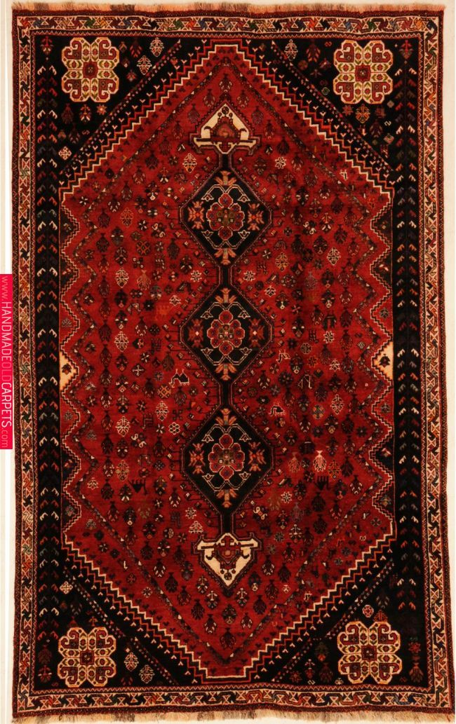 Qashqai 5 10 X 9 5 Antique Persian Rug Rugs On Carpet Patterned Carpet
