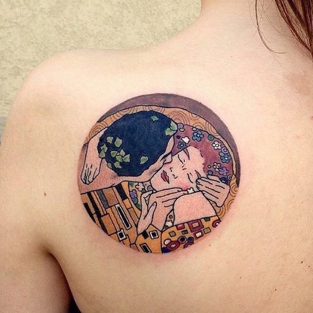 #Klimt #tattoo via @artsxdesign