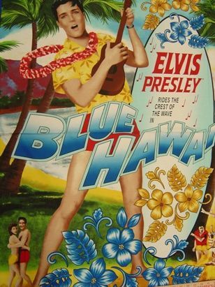 Elvis in Blue Hawaii Panel