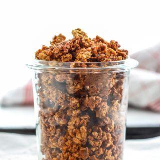 Cinnamon Crunchy Muesli