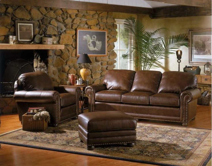 30910LEATHER in by Smith Brothers Furniture in Parma, OH - Sofa