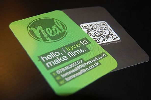 30 Creative QR code business cards photo