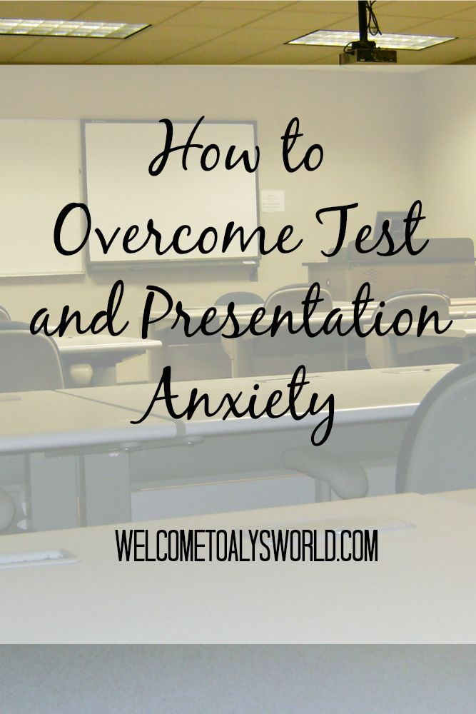 Raise your hand if you have ever felt anxious before a presentation or test. I know I have! Presentation and test anxiety is common among college students. It's normal to feel anxious before a presentation or test, but we have to learn to keep this anxiety under control. Here are four ways to make sure …