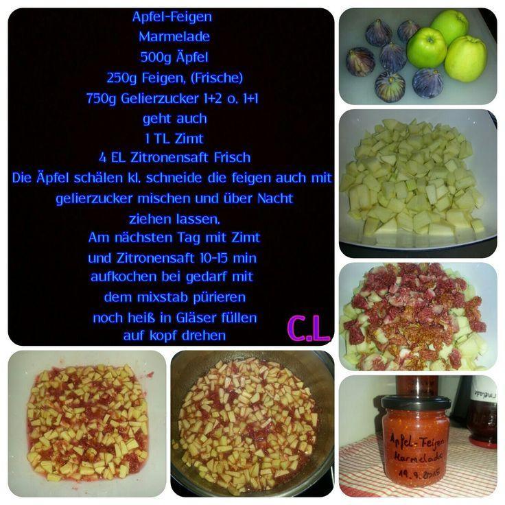 Apfel Feigen Marmelade