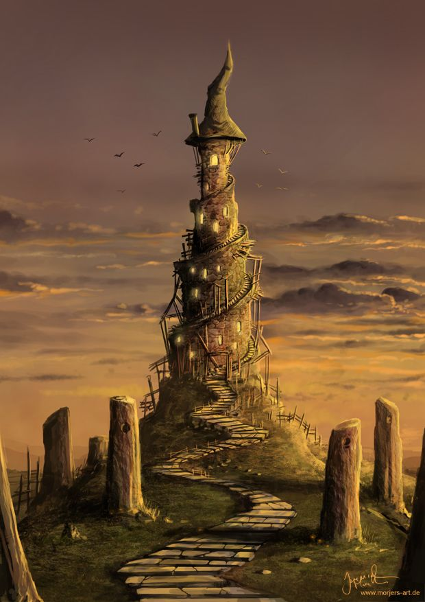 fantasy art wizard castle -#main