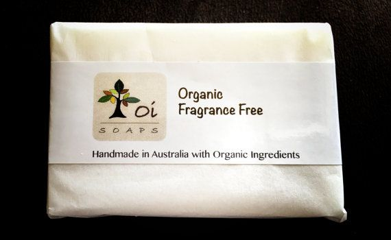 Fragrance Free Organic Handmade artisan Soap by OiSoapsAustralia on Etsy