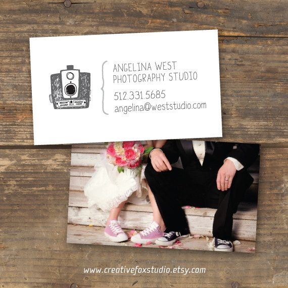 35 best branding ideas images on pinterest branding ideas logo photography business card vintage glam digital download double sided with photo by creativefox reheart Gallery