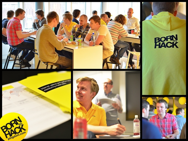 After enjoying lunch together, we had a short internal workshop today in the Pingdom HQ.