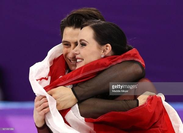 Scott Moir and Tessa Virtue, GOLD!