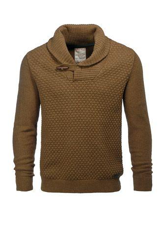 Esprit / Pull en coton enrichi de laine