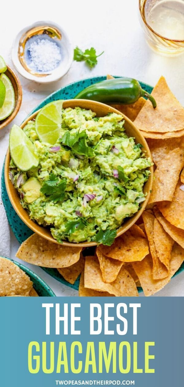 Can You Substitute Lime For Lemon In Guacamole This Is The Best Guacamole Recipe It S Fresh Full Of Flavor And So Easy To Make Serve With Tortilla Chips In 2020 Best Guacamole Recipe Guacamole Recipe Guacamole