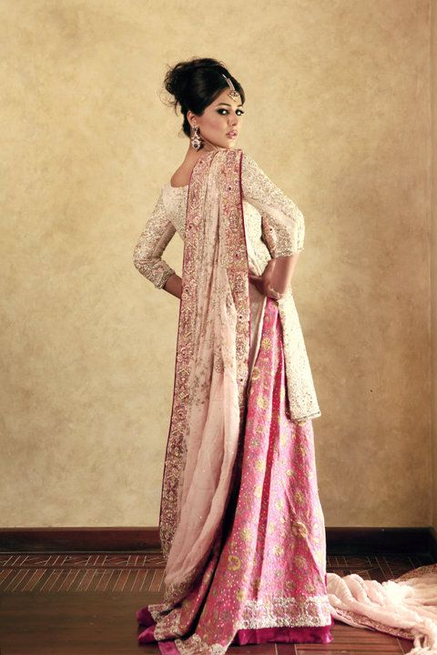 Lengha by Umbreen & Sharmeen