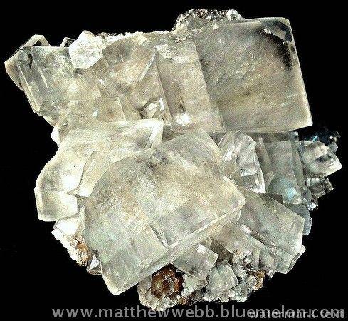 """exclusiveminerals > Calcite, Kuruman, South Africa; c. 3"""" across > Calcite"""