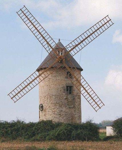 Moulin de Kervoyal à Damgan dans le Morbihan en Bretagne