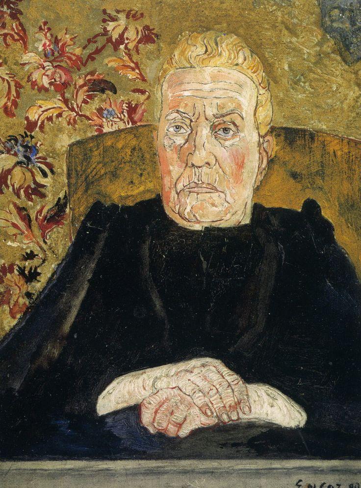 1890 James Ensor Appear revêche