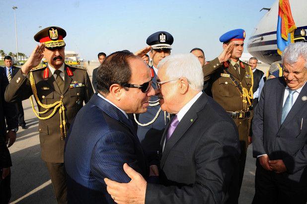 Israeli Puppet Mahmoud Abbas calls for Arab military intervention against Hamas in Gaza