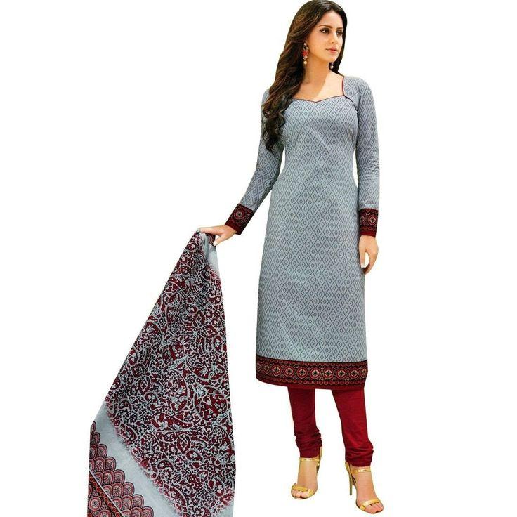 Readymade Designer Ethnic Printed Cotton Salwar Kameez Suit Indian  #Designer #FreeShipping #DressMaterial #SalwarKameez #SalwarSuit #LowestPrice #ShopNow #NewStuff