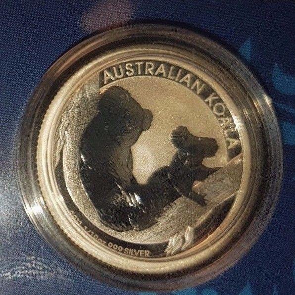 2011 $.10 1/10th oz, Australian Koala Coin, .999 Silver, Capsule, Display Card | eBay