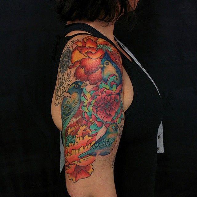 50 Cool Tattoo Ideas For Awesome Inspiration: 50 Cool Half Sleeve Tattoo Ideas